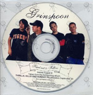 GRINSPOON - Hard Act To Follow - 1