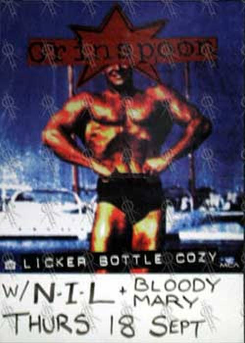 GRINSPOON - September 18th 1997 'Licker Bottle Cosy' Gig Poster - 1