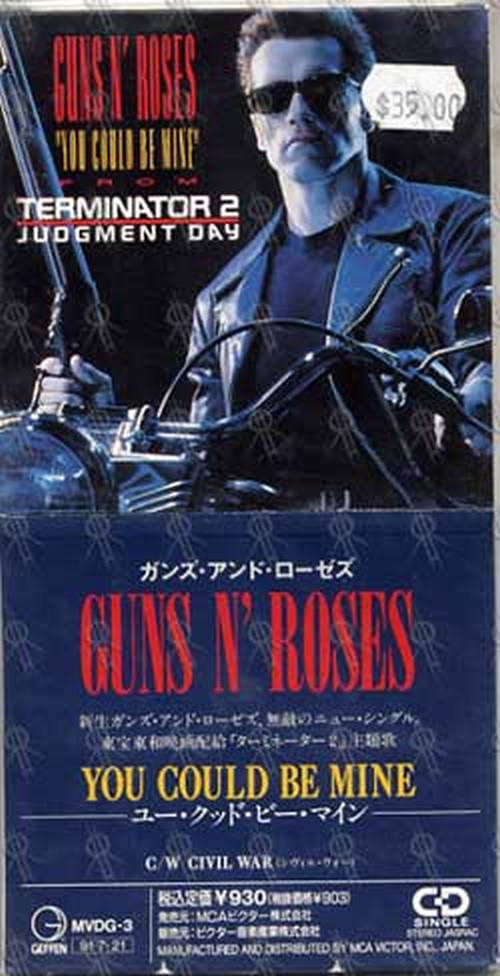 GUNS N ROSES - You Could Be Mine - 1