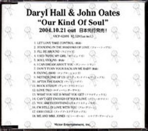 HALL & OATES - Our Kind Of Soul - 1
