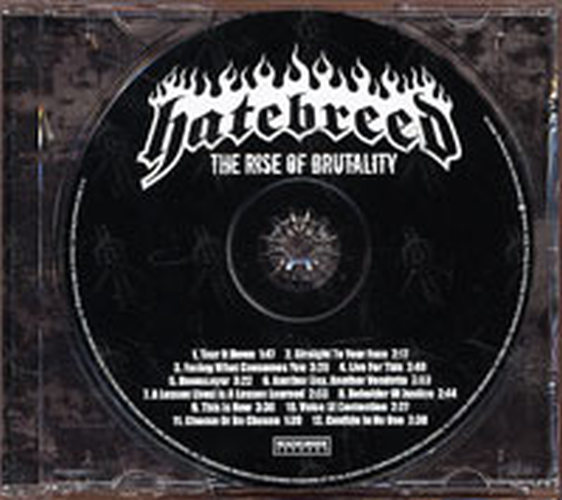 HATEBREED - The Rise Of Brutality - 3