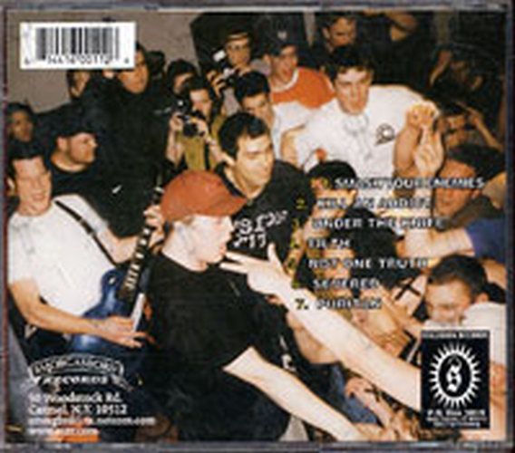 HATEBREED - Under The Knife - 2
