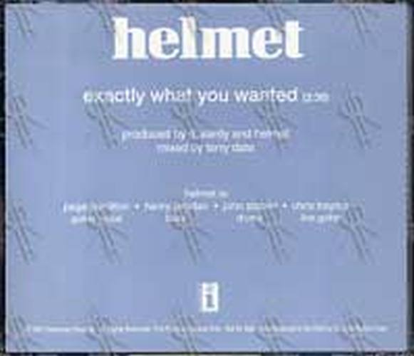 HELMET - Exactly What You Wanted - 2