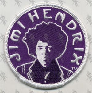 HENDRIX-- JIMI - Circular Embroidered Patch - 1