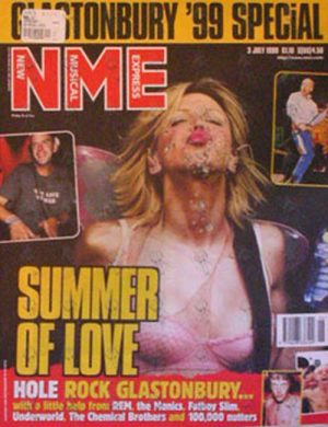 HOLE - 'NME' - 3 July 1999 - Courtney Love On Cover - 1