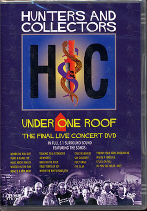 HUNTERS AND COLLECTORS - Under One Roof - 1