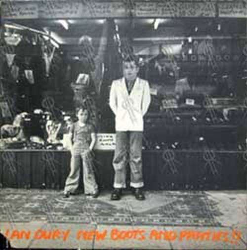 IAN DURY AND THE BLOCKHEADS - New Boots And Panties!! - 1