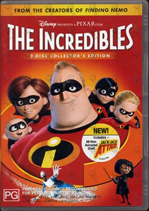 INCREDIBLES-- THE - The Incredibles - 1