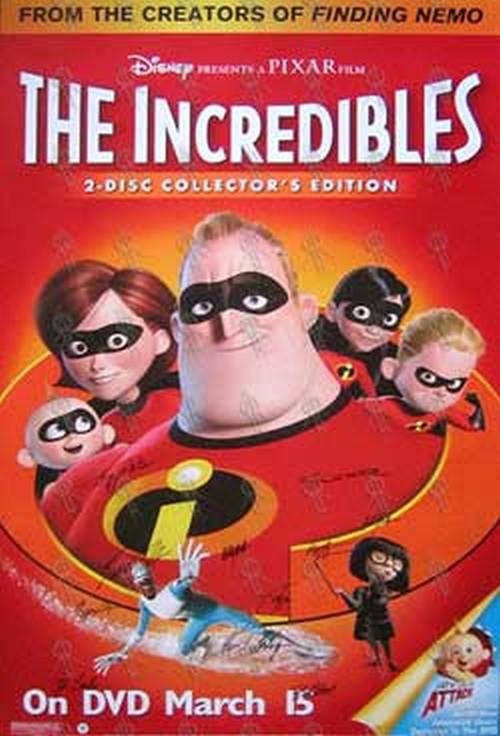 INCREDIBLES-- THE - 'The Incredibles' Movie Poster - 1