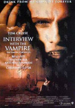 INTERVIEW WITH THE VAMPIRE - 'Interview With The Vampire' Movie Poster - 1