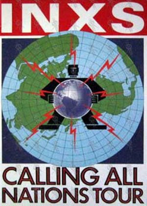 INXS - 'Calling All Nations' Tour Program - 1