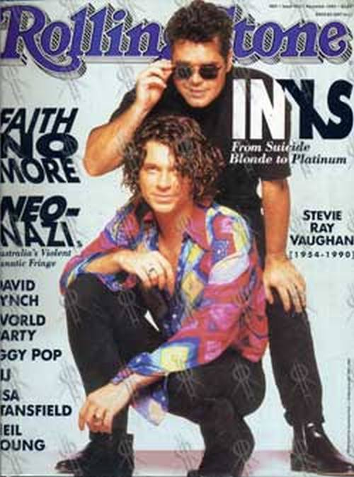 INXS - 'Rolling Stone' - Nov 1990 - INXS On Cover - 1