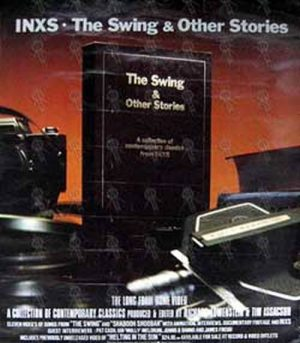 INXS - 'The Swing & Other Stories' Video Poster - 1