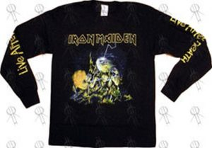 IRON MAIDEN - Black 'Live After Death' Long-Sleeve T-Shirt - 1