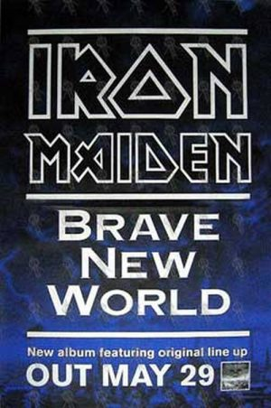 IRON MAIDEN - 'Brave New World' Poster - 1