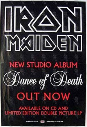 IRON MAIDEN - 'Dance Of Death' Album Poster - 1