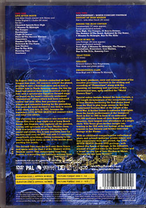 IRON MAIDEN - Live After Death - 2