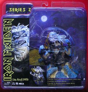 IRON MAIDEN - 'Live After Death' Design Collectable Figurine - 1