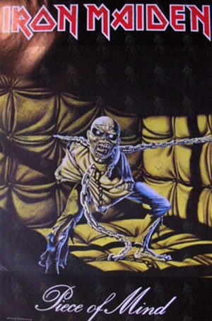 IRON MAIDEN - 'Piece Of Mind' Album Poster - 1