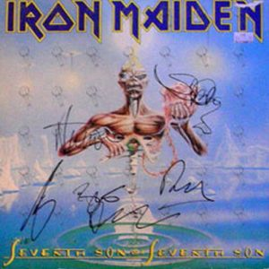 IRON MAIDEN - Seventh Son Of A Seventh Son - 1