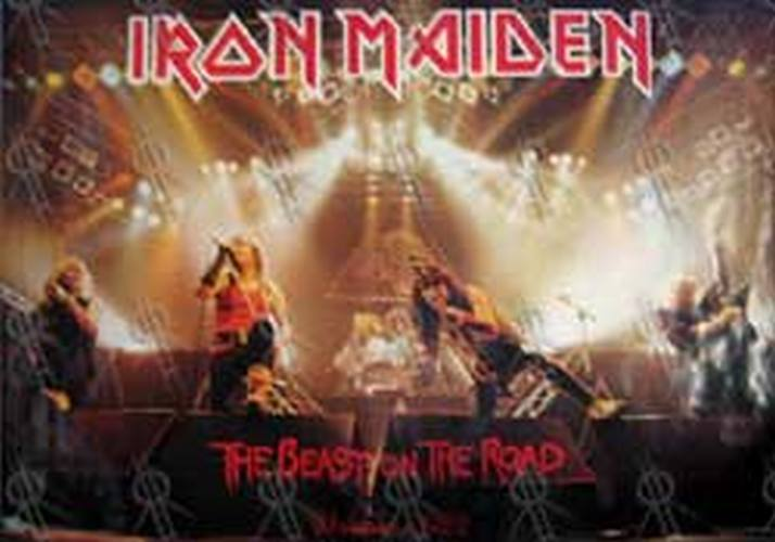 IRON MAIDEN - 'The Beast On The Road' 1982 World Tour Poster - 1