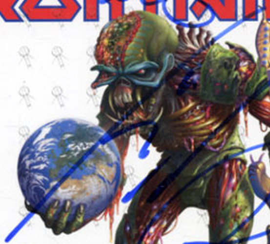 IRON MAIDEN - The Final Frontier Signed UK Tour Flyer - 6
