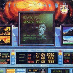 IRON MAIDEN - Wasted Years / Stranger In A Strange Land - 1
