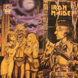 IRON MAIDEN - Women In Uniform / Twilight Zone - 1