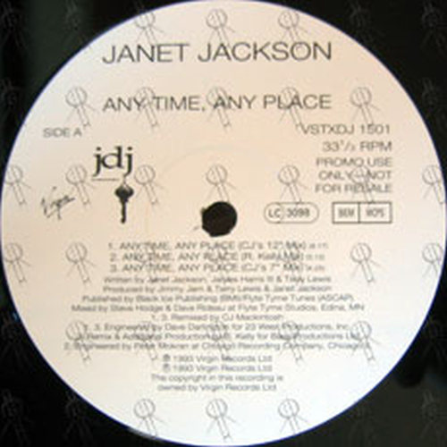 JACKSON-- JANET - Any Time