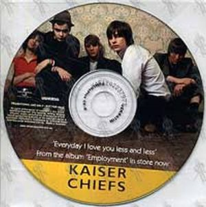 KAISER CHIEFS - Everyday I Love You Less And Less - 1