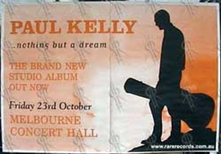 KELLY-- PAUL - Melbourne Concert Hall - 23rd October 2002 Show Poster - 1