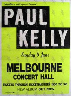 KELLY-- PAUL - 'Melbourne Concert Hall