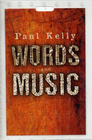 KELLY-- PAUL - 'Words And Music' Promo Laminate - 1