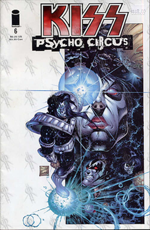 KISS - 'Psycho Circus' Comic - #6 - 'Smokes & Mirrors [Part III]' - 1