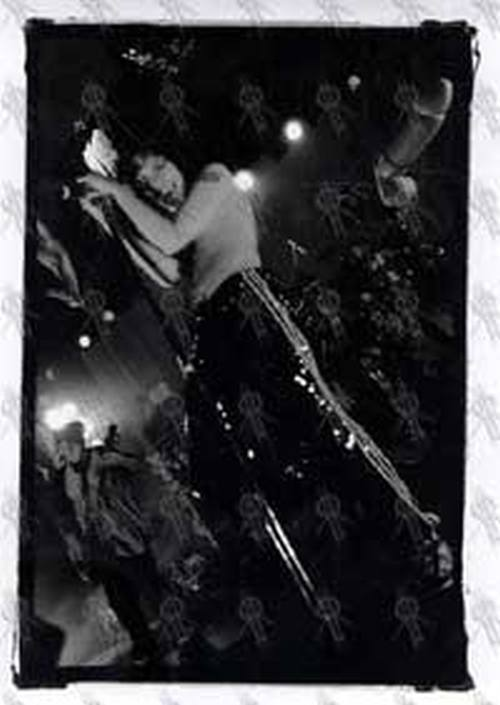 KORN - Live At Festival Hall Black And White Photograph - 1