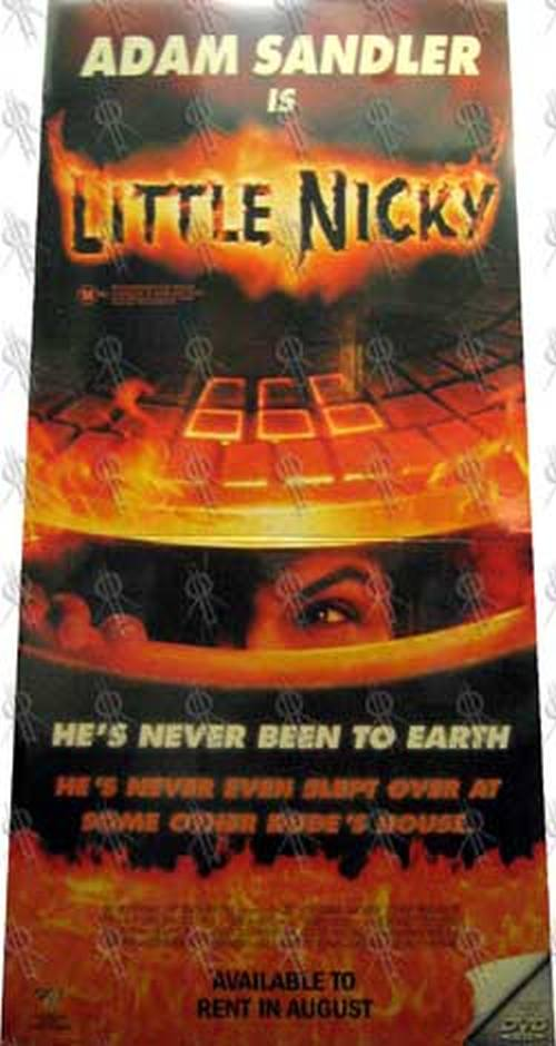 LITTLE NICKY - Video Store Display - 1