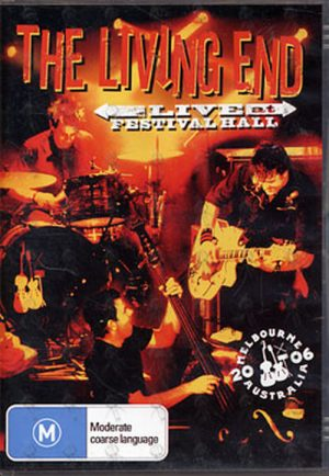 LIVING END-- THE - Live At Festival Hall - 1