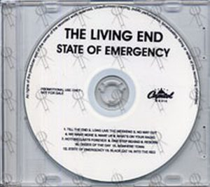 LIVING END-- THE - State Of Emergency - 1