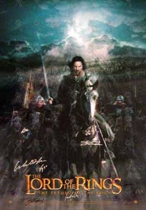 LORD OF THE RINGS - 'The Return of The King' Movie Poster - 1