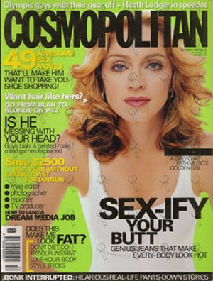 MADONNA - 'Cosmopolitan' - October 2000 - Issue 328 - Madonna On Cover - 1