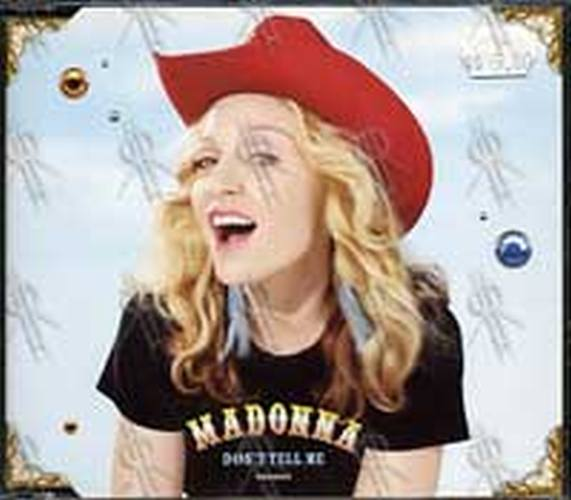 MADONNA - Don't Tell Me - 1