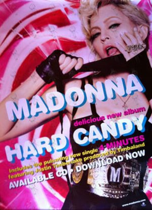 MADONNA - 'Hard Candy' Promo Poster - 1
