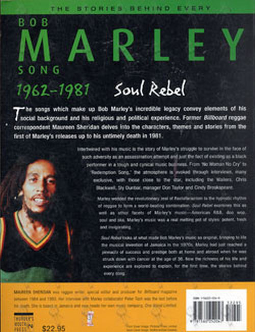 MARLEY-- BOB - The Stories Behind Every Song 1962 - 1981 - 2