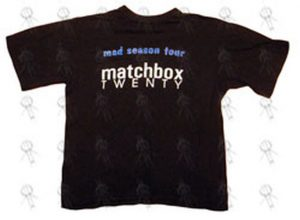MATCHBOX 20 - Black 'Mad Season' Australian Tour T-Shirt - 1