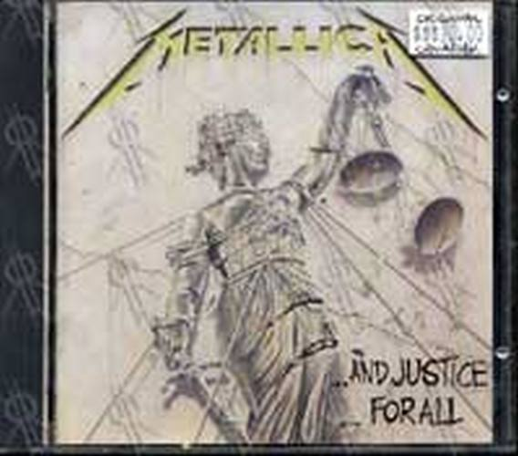 METALLICA - ... And Justice For All - 1