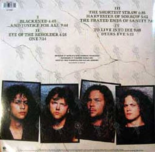 METALLICA - ...And Justice For All - 2