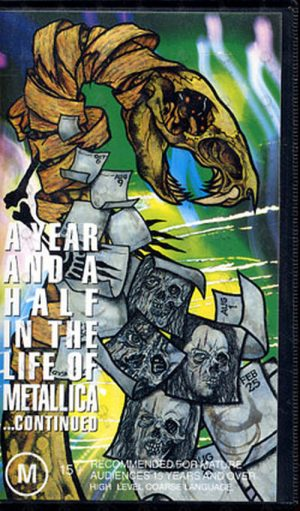 METALLICA - A Year And A Half In The Life Of Metallica Continued - 1