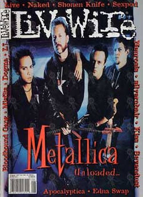 METALLICA - 'Livewire' - August 1997 - Metallica On Cover - 1