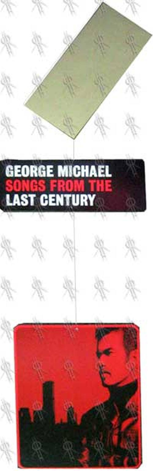 MICHAEL-- GEORGE - 'Songs From The Last Century' Hanging Record Store Mobile Display - 1