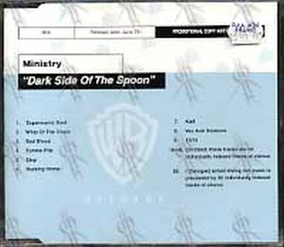 MINISTRY - Dark Side Of The Spoon - 1